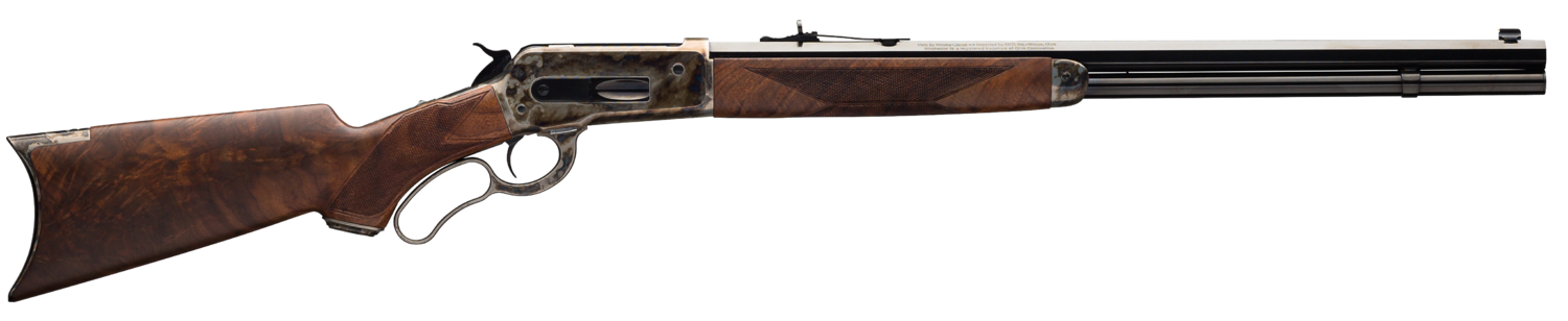 RIFLES LEVER ACTION MODEL 1886 DELUXE CASE HARDENED